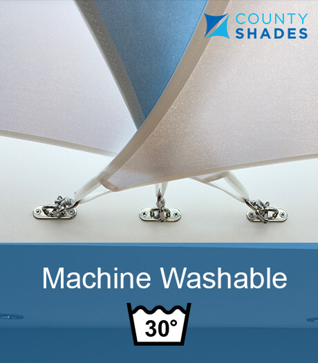 machine washable conservatory sail shades